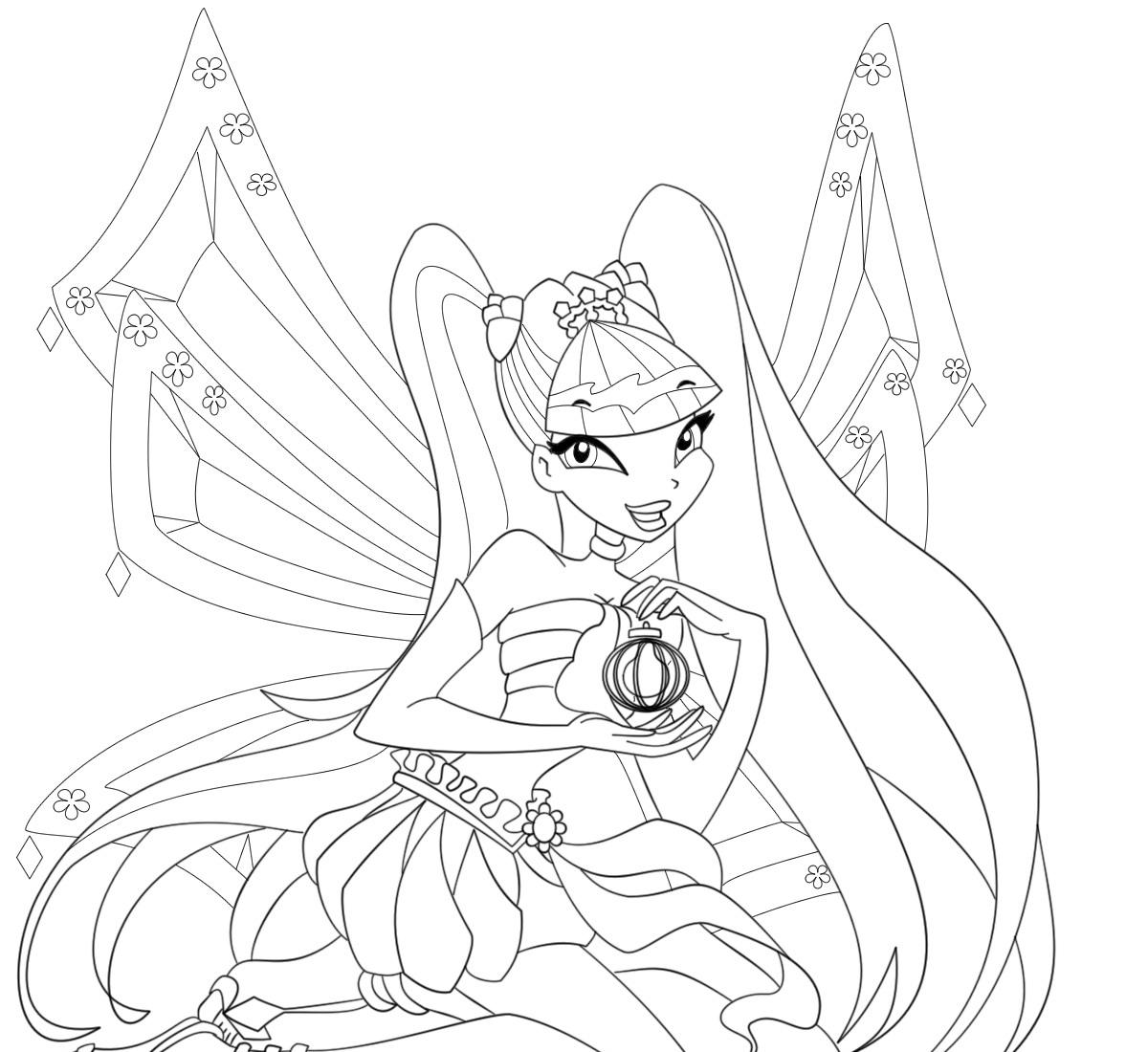 1200x1100 The Winx Club Coloring Pages