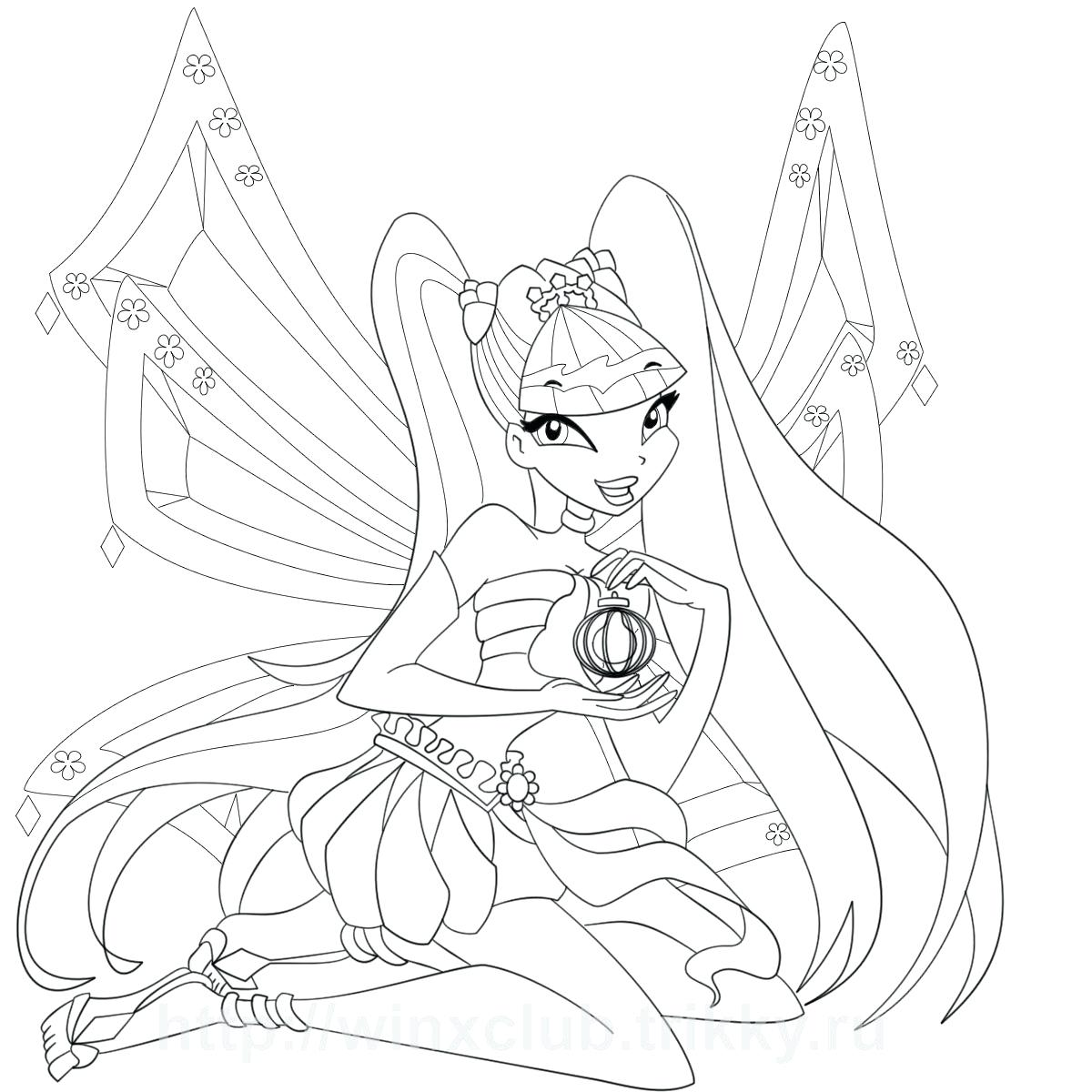 Winx Club Flora Drawing at GetDrawings.com | Free for personal use ...