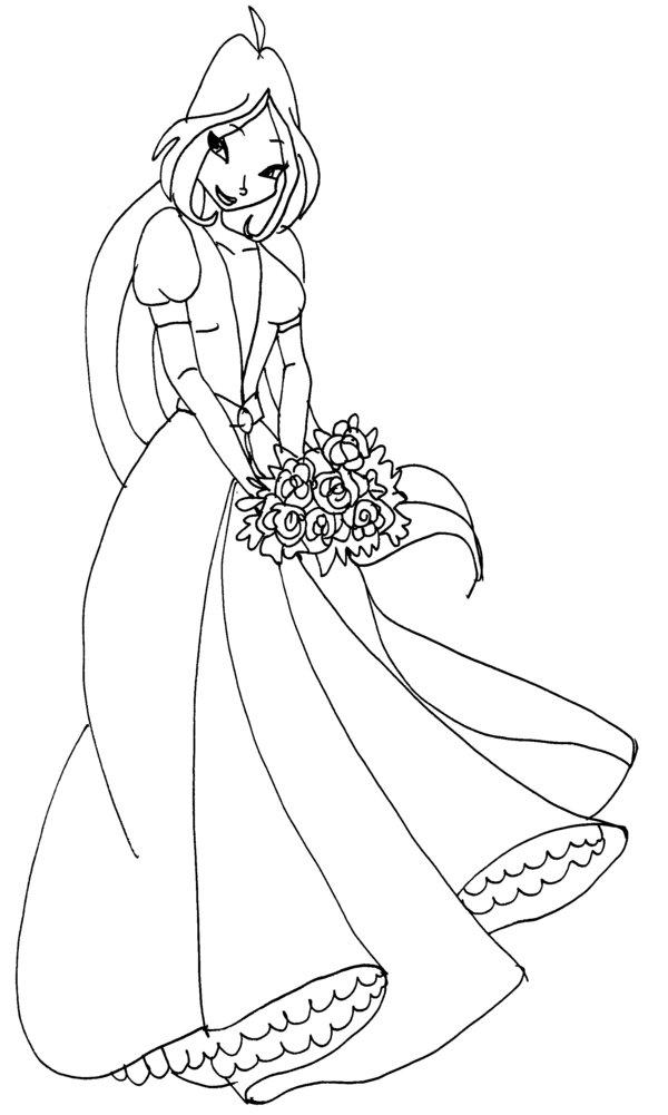 600x1001 Winx Flora Dress By Catasqueen