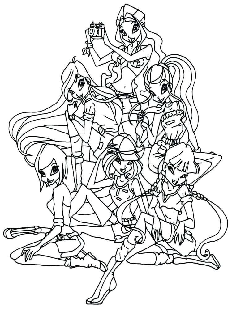 750x1000 Best Of Winx Club Coloring Pages Images Club Coloring Pages Winx