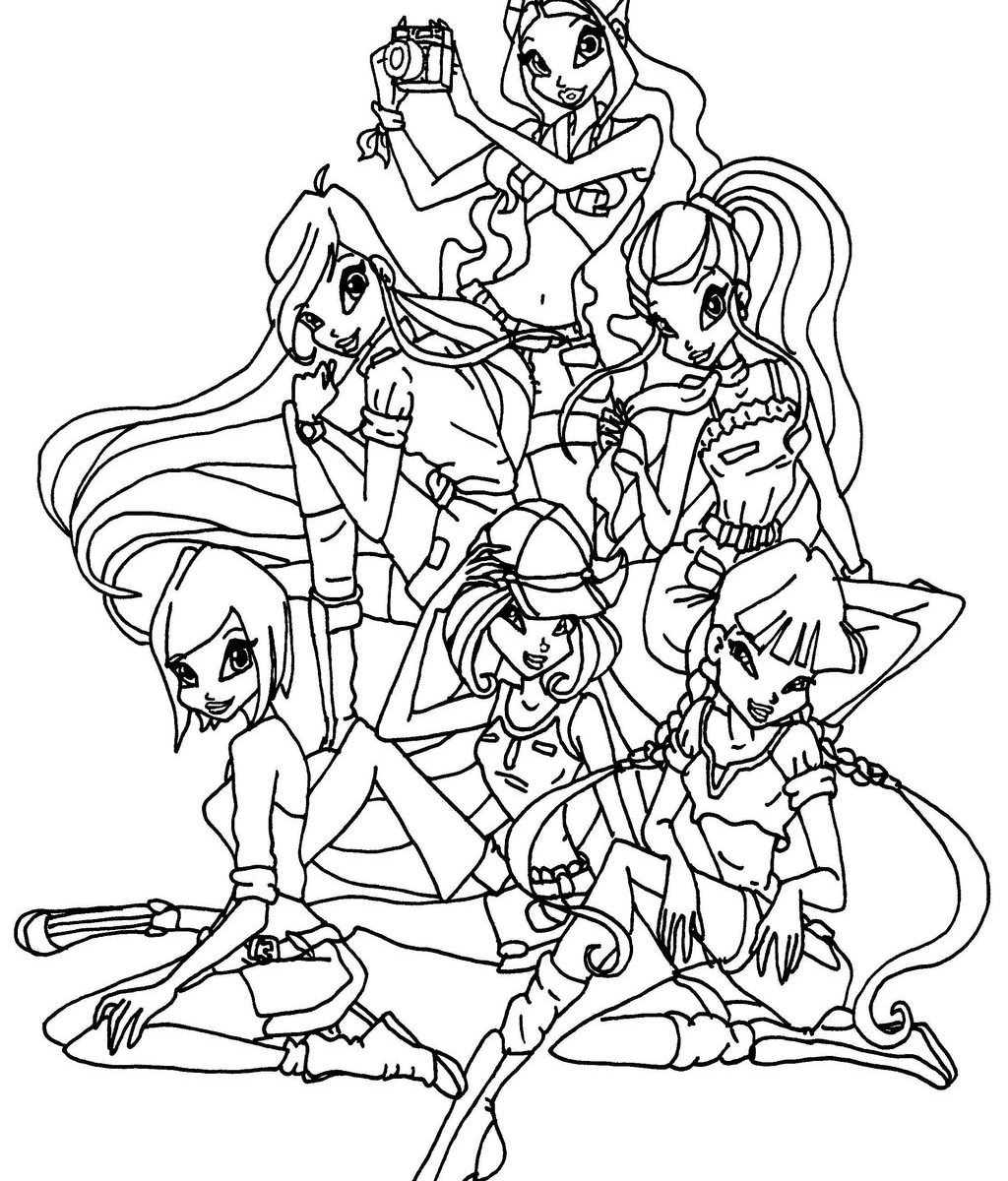 Winx Drawing at GetDrawingscom Free for personal use Winx Drawing