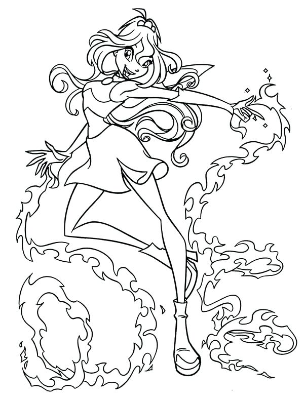 600x792 Winx Club Coloring Pages Princess Bloom Club Coloring Pages 9 Winx