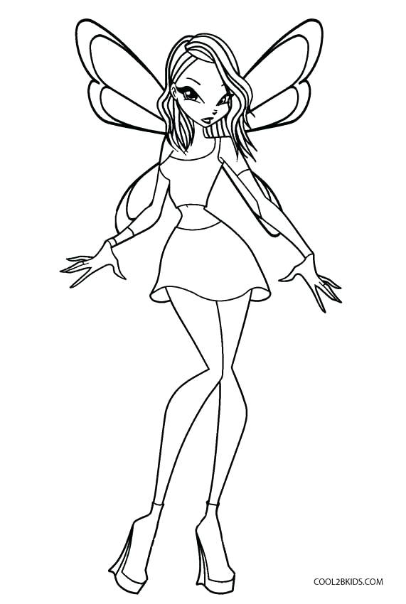 571x850 Winx Club Musa Harmonix Coloring Pages Astonishing For Your Line