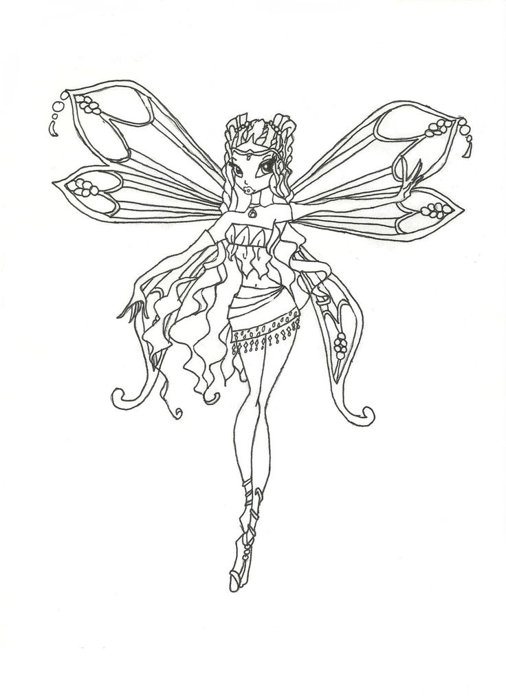 Winx Drawing at GetDrawings.com | Free for personal use Winx Drawing ...