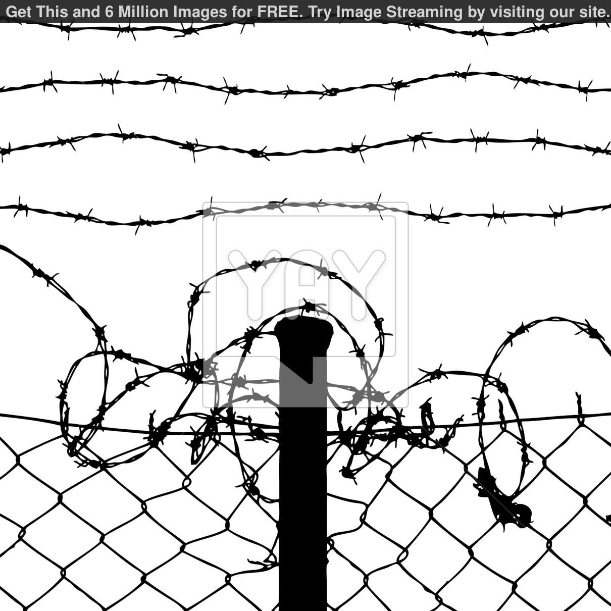 Wire Fence Drawing At Getdrawings Com Free For Personal