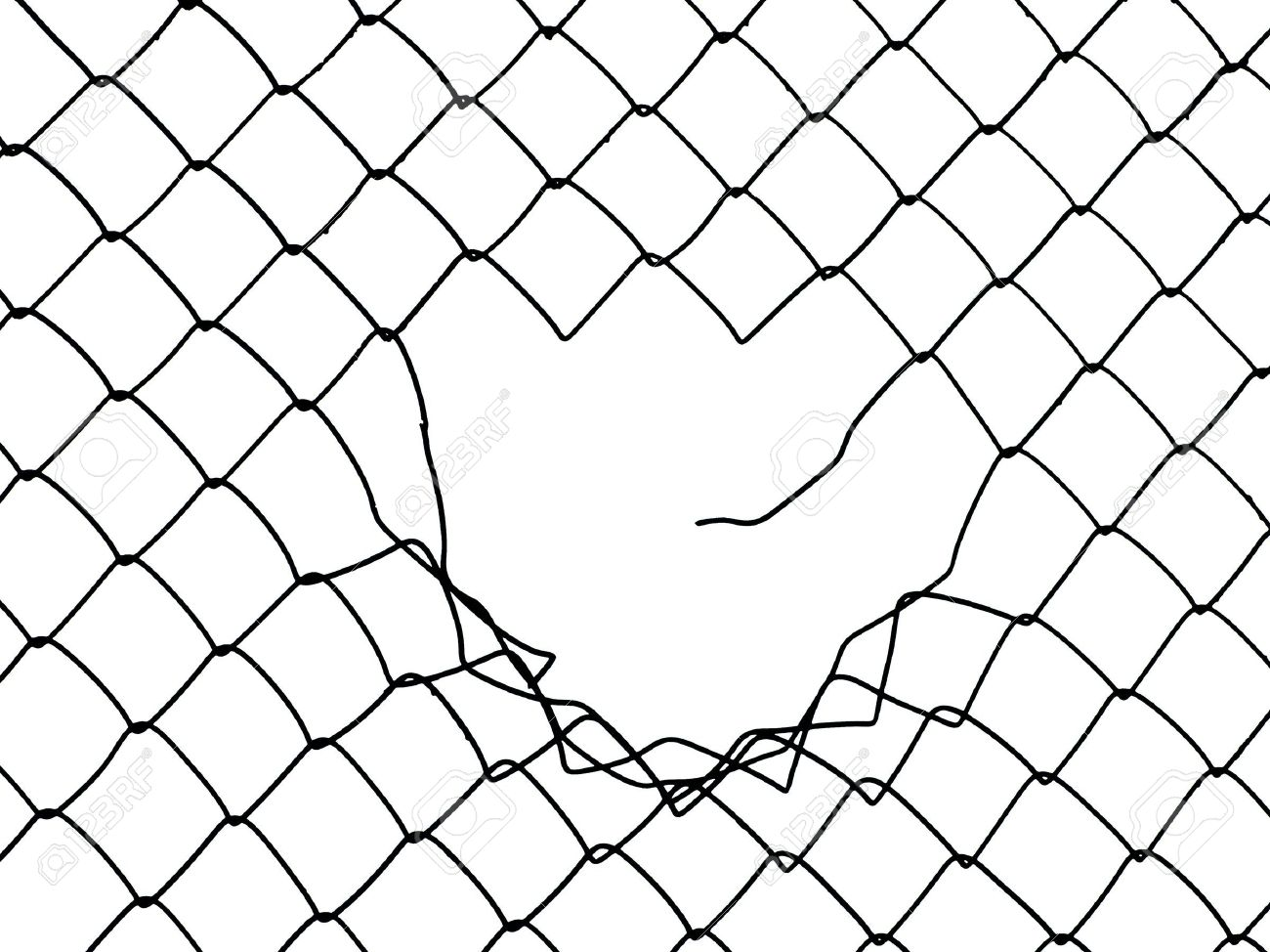 1300x974 Metal Wire Fence Protection Chainlink Background Stock Photo