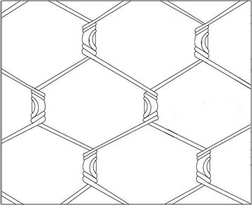 357x290 Galvanized Chicken Wire