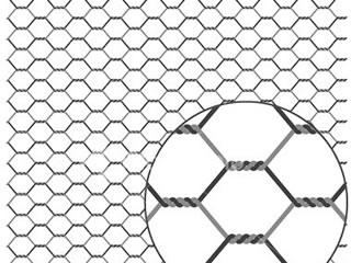 320x240 Hexagonal Wire Netting
