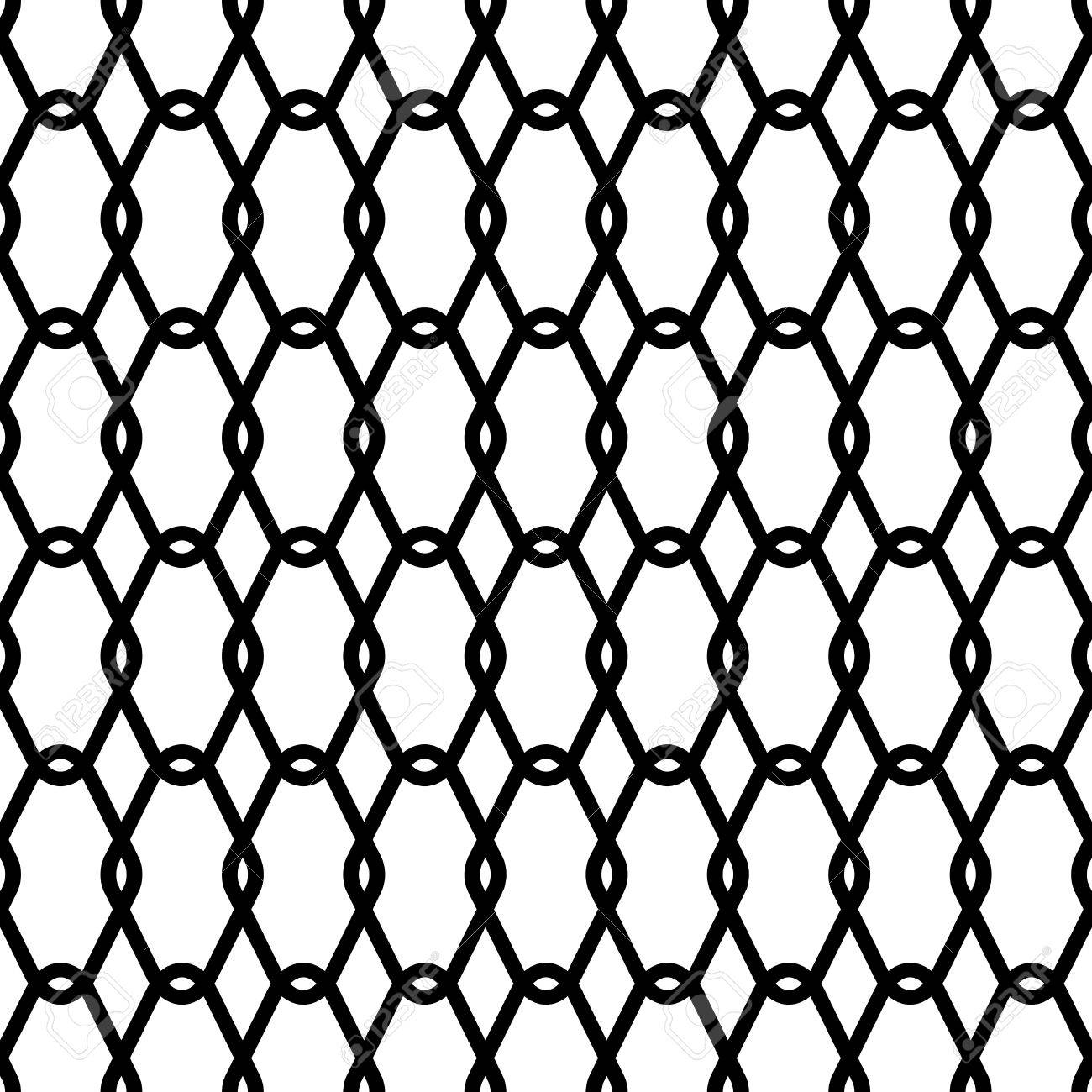 1300x1300 Steel Wire Mesh Seamless Background. Vector Illustration Royalty