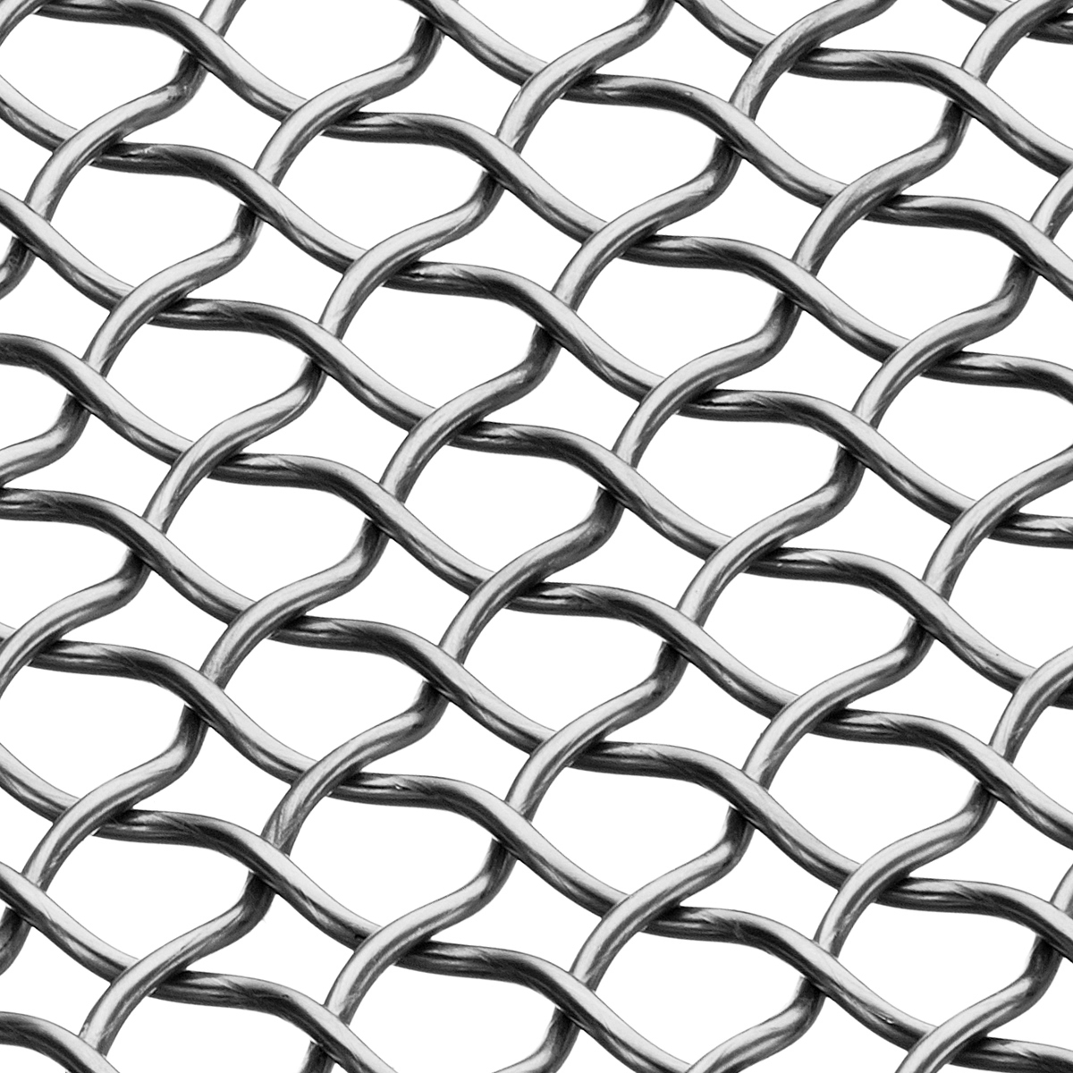1200x1200 Banker Wire Pattern M44 9 Large Weave Architectural Wire Mesh