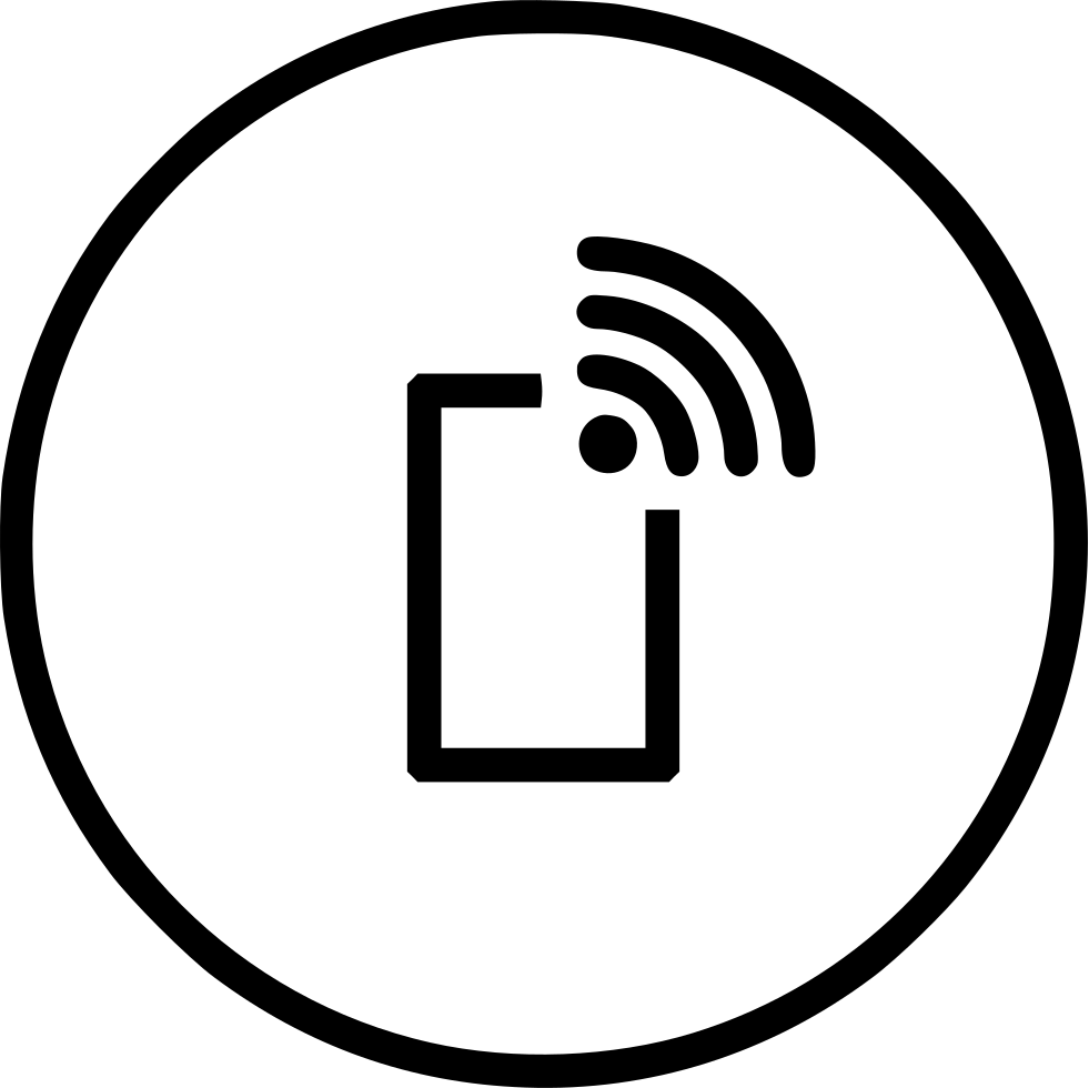 981x980 Mobile Wifi Wireless Internet Data Connection Hotspot Svg Png Icon