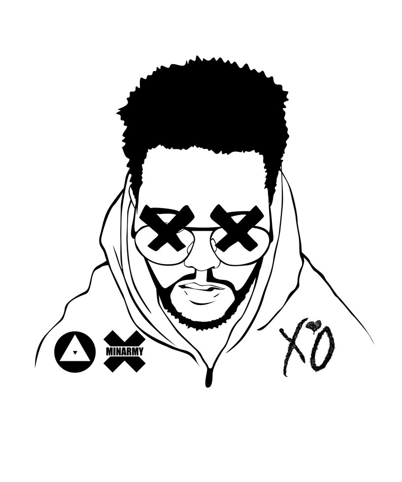 816x978 The Weeknd Drawing Tumblr The Weeknd