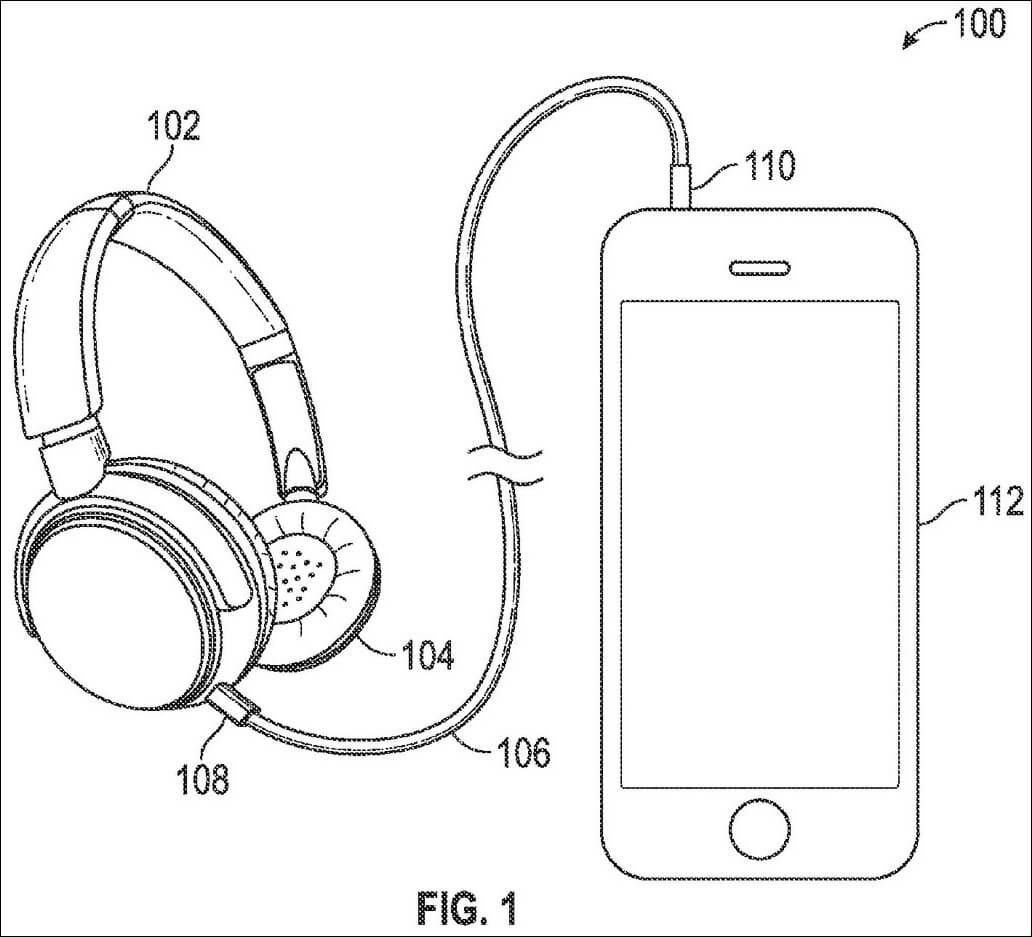 1032x937 Apple Patent Details Hybrid Wired Wireless Headphones
