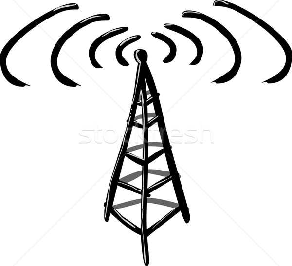 600x546 Wireless Tower