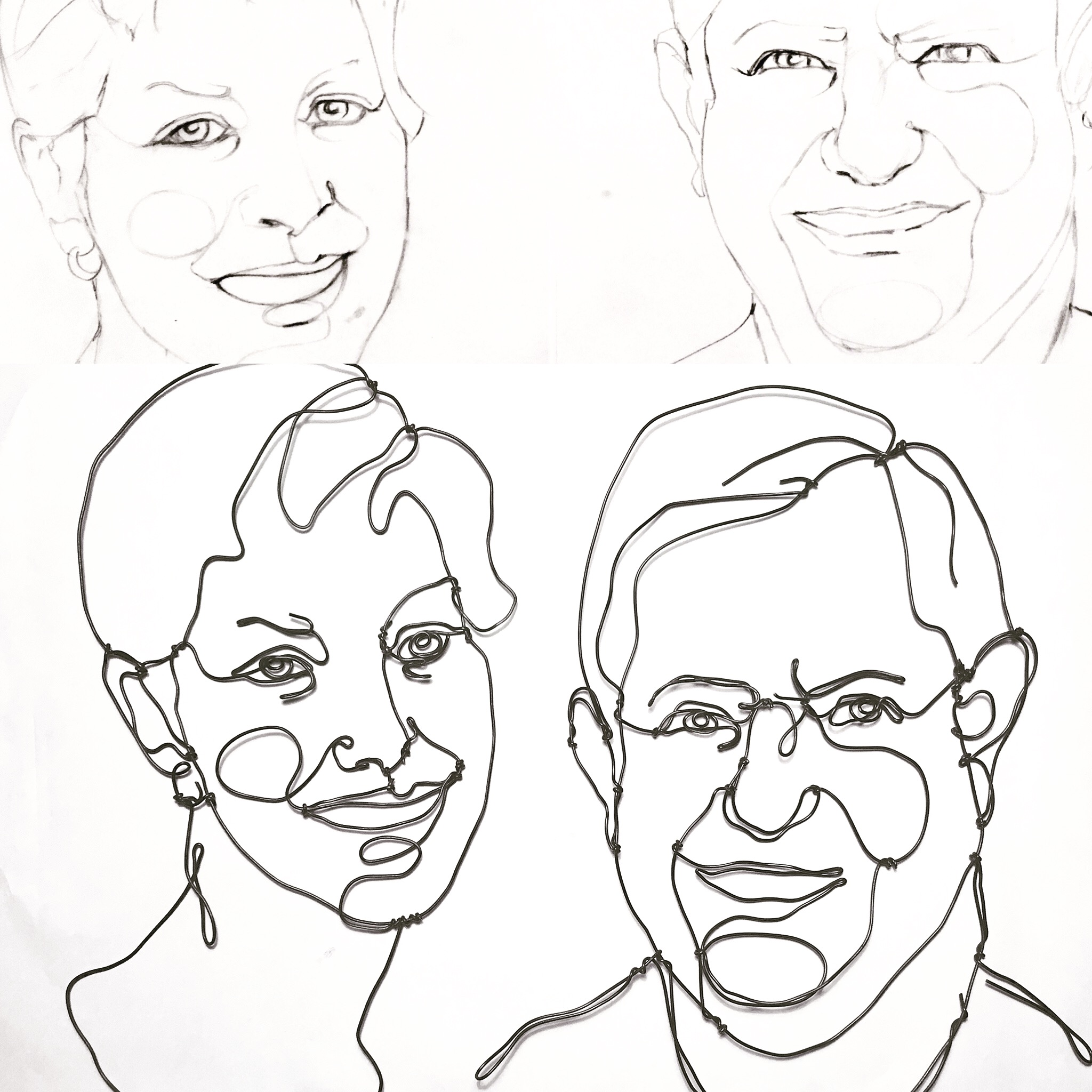 2048x2048 Sketches And Sculptures