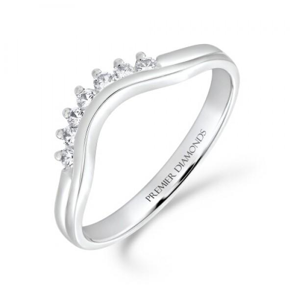 600x600 7 Stone Rounded Wishbone Ring Diamond Rings