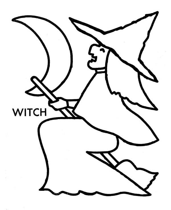 600x734 How To Draw Witch Coloring Pages Best Place To Color