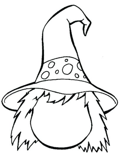 412x534 Witch Coloring Pictures Witch Face Coloring Pages Scary Witch