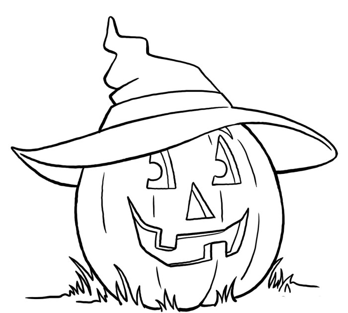 photo regarding Witches Hat Template Printable known as Witch Hat Drawing at  Totally free for particular person hire