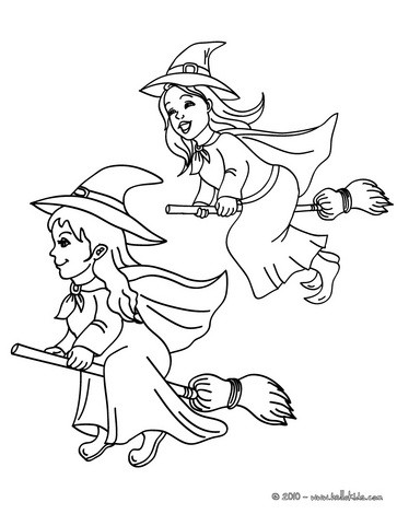 363x470 Broom Coloring Pages, Drawing For Kids, Free Online Games