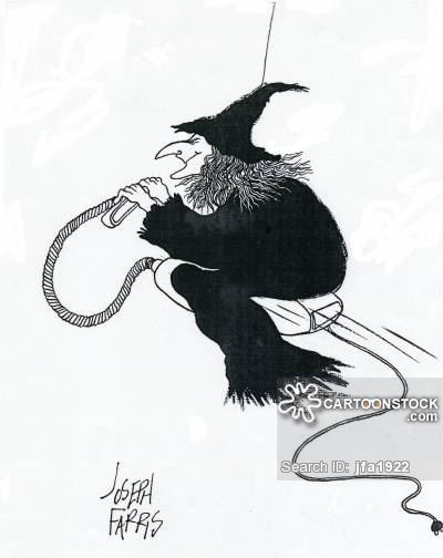 400x504 Witch's Broomstick Cartoons And Comics