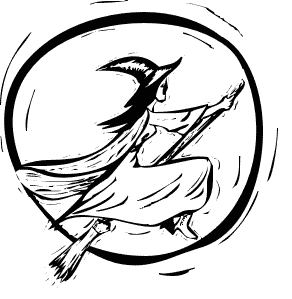 292x299 Witch On Broom 02