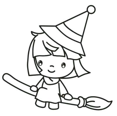 400x398 Coloring Pages Of Witches Coloring Pages For Kids 2 Unique Ideas