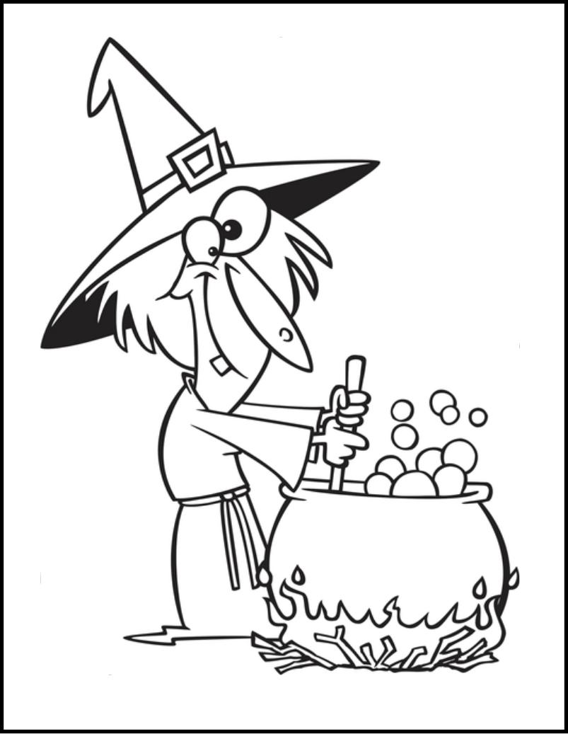 803x1037 Drawn Witch Cauldron