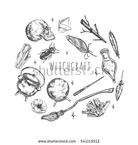 450x470 Drawn Witchcraft
