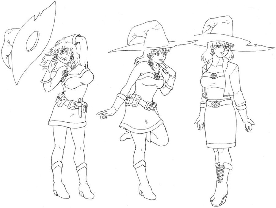 900x678 Witch Drawings By Ericmhe