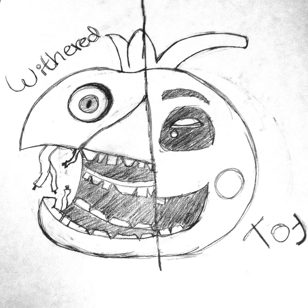 Withered Bonnie Drawing at GetDrawings | Free download