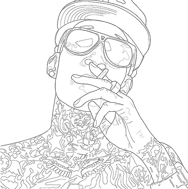 Wiz Khalifa Drawing
