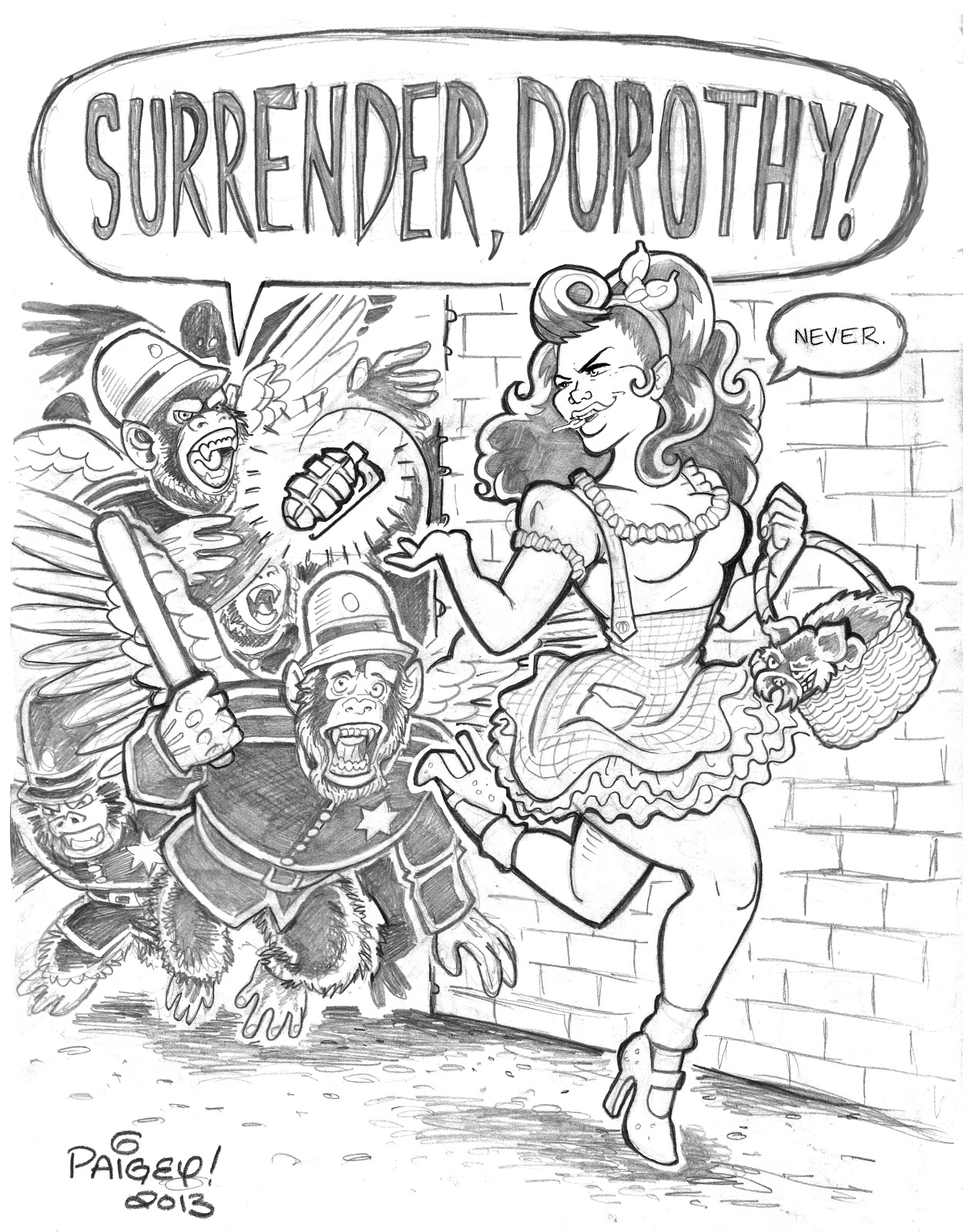 1263x1600 Sexy Dorothy Wizard Of Oz Drawings Dorothy Wizard Of Oz Drawing