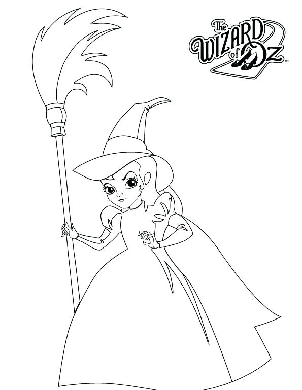 595x769 The Wizard Of Oz Coloring Pages Wizard Of Oz Coloring Pages Free