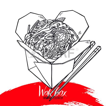 Wok Drawing