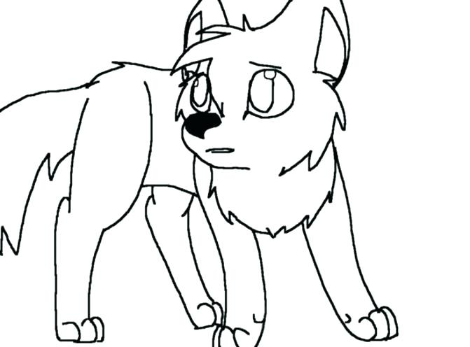 671x496 Coloring Pages Of A Wolf Angry Cartoon To