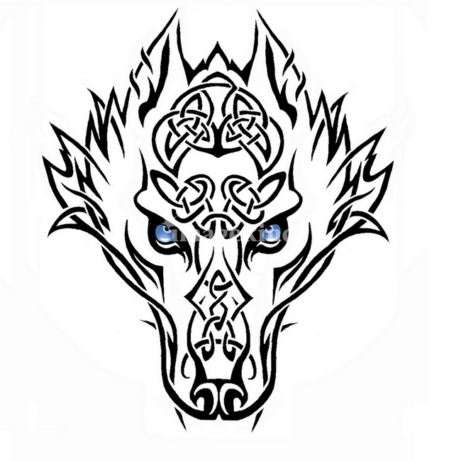 650x650 Tribal Wolf By Erin Strunk Tribal Wolf, Wolf And Tattoo