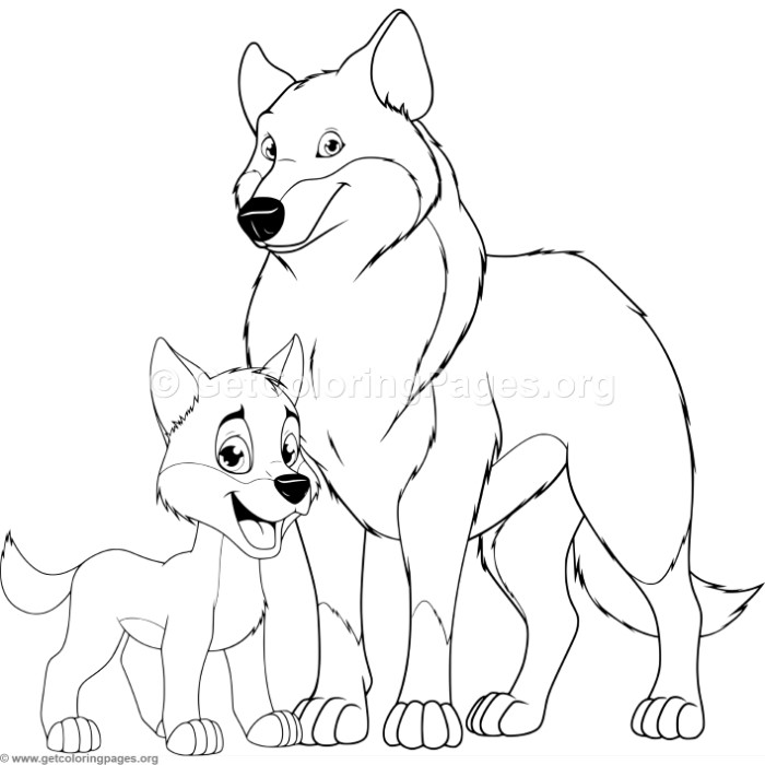 700x700 Mother Tiger And Cub Coloring Pages