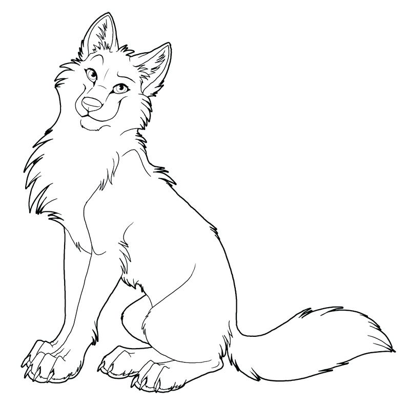 800x799 Coloring Pages Of Wolfs Wolf Mother And Wolf Cub Coloring Page