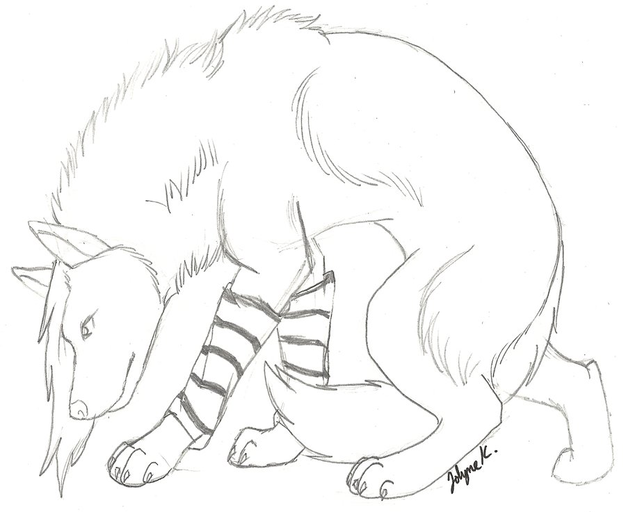 900x737 Emo Wolf Sketch by uniqueraindisaster on DeviantArt