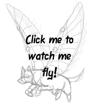 350x362 Flying Wolf Animation by Tephra76 on DeviantArt