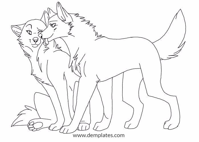 698x499 Wolf Love Drawings