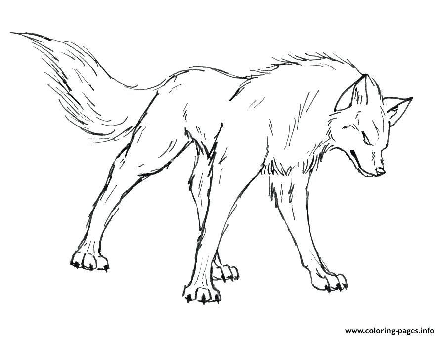 894x682 Wolf Pack Coloring Pages Anime Wolf Pack Coloring Pages Angry