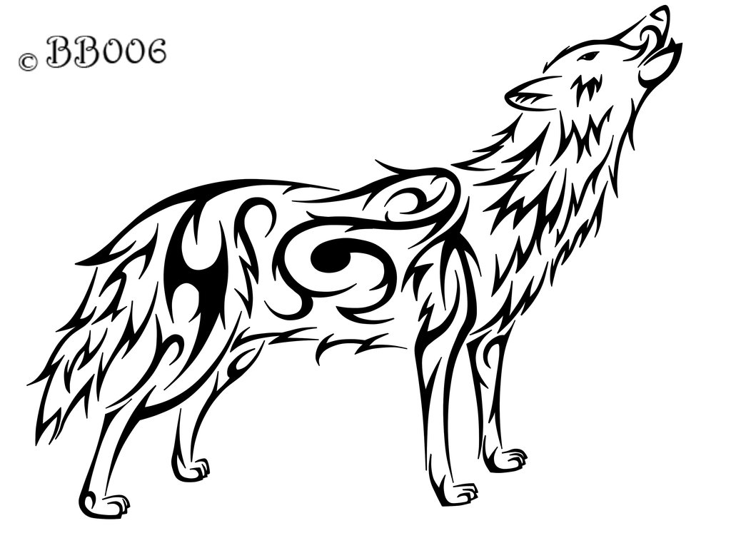 How To Draw Easy Wolves