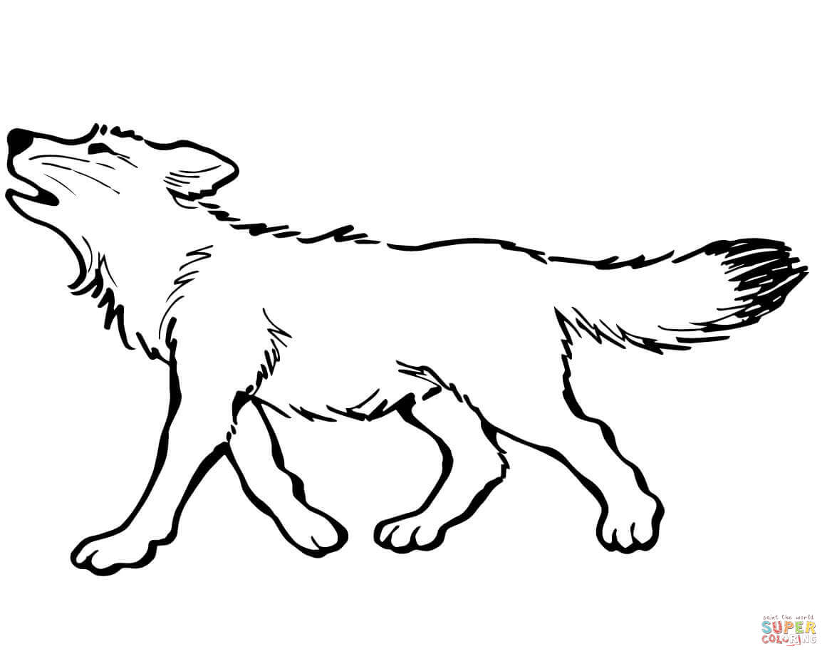 Lineart Wolf Tattoo : Wolf drawing wallpaper at getdrawings.com free for personal use