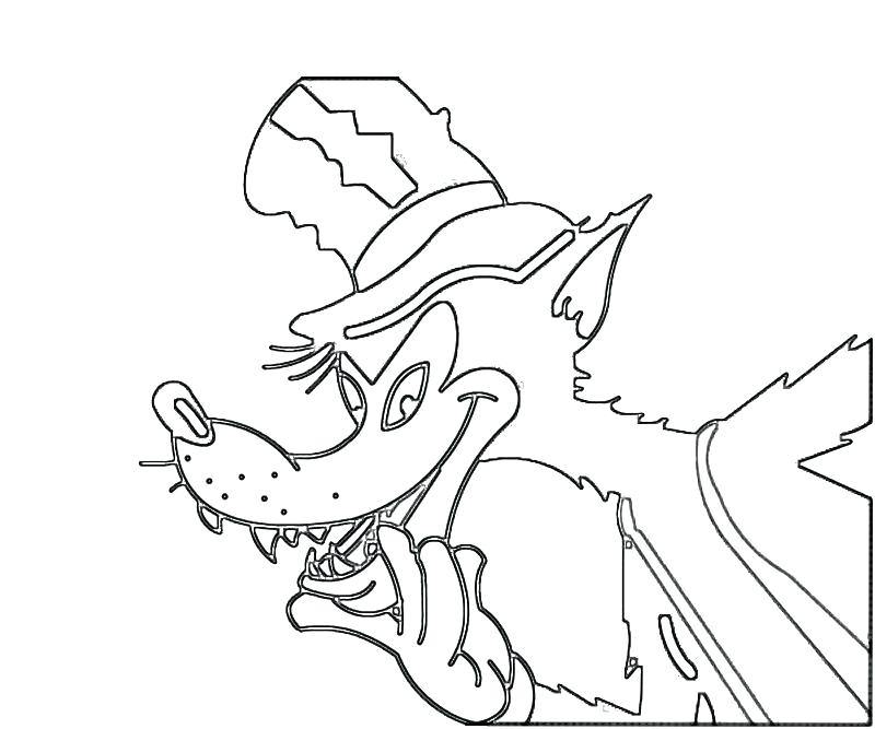 800x667 Anime Wolf Coloring Pages