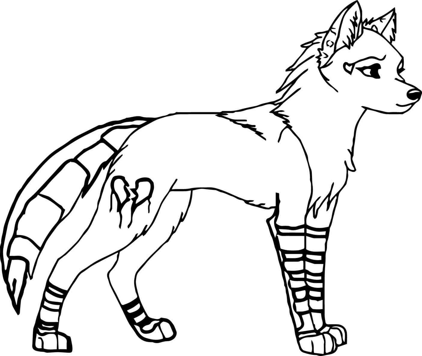 1406x1188 Easy Drawings Of Anime Wolves