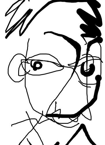 Wolf Eye Drawing