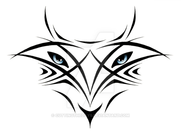 Lineart Wolf Tattoo : Wolf eyes drawing at getdrawings.com free for personal use