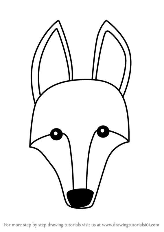 567x800 Learn How To Draw A Maned Wolf Face Kids (Animal Faces